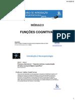 Módulo II Funções Cognitivas