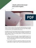 7 Sitios Web Donde Podrás Descargar Libros Sin Restricciones Legales
