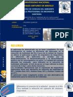 Exposicion del remocion de turbiedad quitosano..pptx