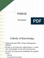 PmBok 2005 Resumo Final
