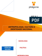 Aula 1 - Antropologia, Cultura e Identidade Nacional