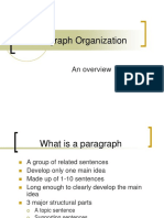 Paragraph+Organization