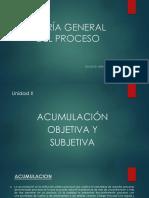 acumulación subjetiva y objetiva