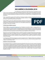Premio America Solidari a Bases 18