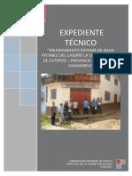 Expediente TécnicoMejoramiento Sistema de Agua Potable – Cajamarca.pdf