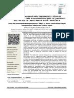 Uso Da Teoria Dos Pólos de Crescimento e Pólos de Desenvolvimento Para a Elaboração de Rede de Transporte