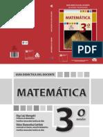 Matemática 3º Medio - Guía Didáctica Del Docente