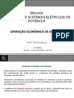 Operação de sistemas elétricos