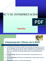 Interpretacion de Bhc