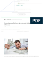 →Como Ganhar Dinheiro Na Internet_ 21 Maneiras Infalíveis [2017]