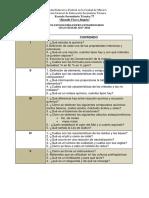 GUÍA DE ESTUDIO EXAMEN EXTRAORDINARIO CIENCIAS 3  (QUÍMICA ) PROFRA. JESSICA 17-18