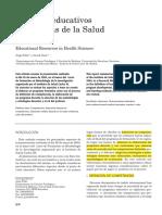 Recursos Educativos en Ciencias de La Salud