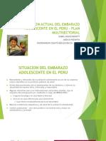 Situación actual del embarazo adolescente en el Perú – Plan multisectorial Dra. Isabel Gomez.pdf