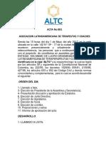 Estatutos ALTC