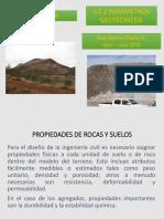 U2.2 Parámetros Geotécnicos