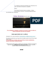 Informe Actividades Costanera