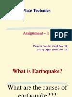 Plate Tectonics_1st Sem_Assignment