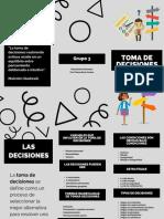 Brochure Toma de Decisiones