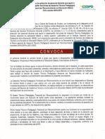 Convocatoria Atp.t.rec.2018.2019