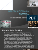 Itroducción a La Estetica