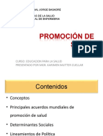 6. Promocion de La Salud