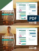 Calendario Academico Presencial Home 2018 Cba Primer Semestre
