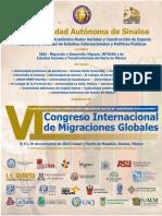 6 Congreso Migraciones Globales