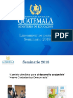 Presentación  Seminario 2018