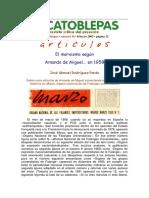 El Marxismo Según Amando de Miguel, En 1958 - Por José Manuel Rodríguez Pardo