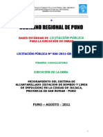 Bases de La Licitacion Publica Alcantarillado Juliaca