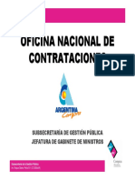 Oficina Nacional de Contrataciones
