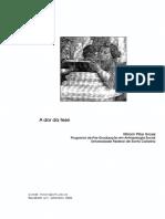1. A dor da tese_artigo Grossi.pdf