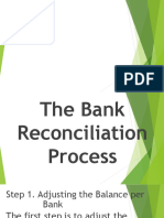 Bank Reconmciliation Process