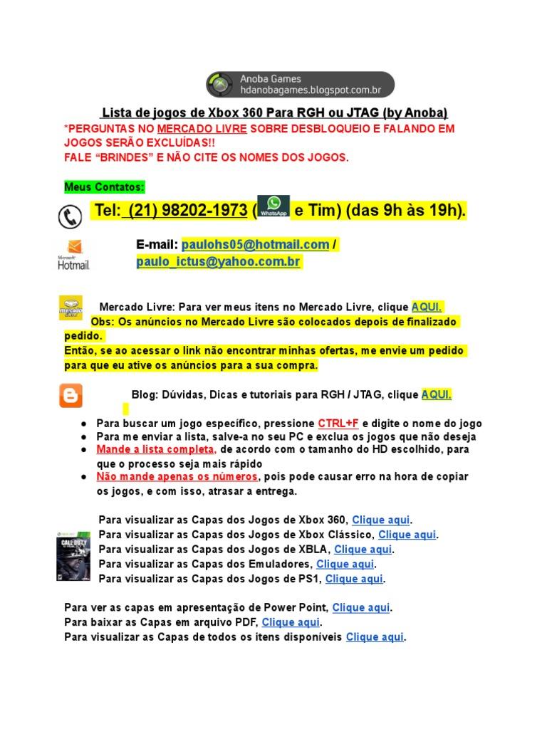 Lista de Brindes de Xbox 360_byAnoba on fuse world, fuse box art, fuse demo review,