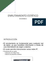4. ENRUTAMIENTO ESTÁTICO