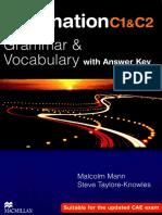 C1 & C2 Level English