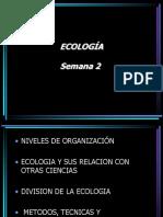 Semana 2 y 3 (Ecologia)