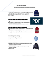 Especificaciones Tecnicas Epp General Gra