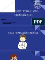 PROPEDEUTICA - Responsabilidades y Derechos Del Médico, Comunicación Efectiva