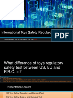 Presentation - International Toys Safety Regulatory Test