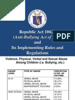 Anti-bullying Ppt - Edited