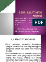 RELATIVITAS KHUSUS