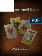 The Tarot Spell Book - First Edition