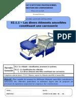 Cours Prof Les Divers Elements Amovibles Constituant Une Carrosserie