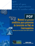CIANSA Manual Gestion Crediticia Proyectos Inversion