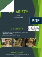 Profil CV Aristy