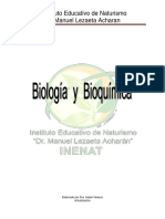 Biologia y Bioquimica 2013