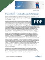 1224356 Intermittent vs Indwelling Catheterization
