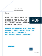 Master Plan and Detailed Design for Kabaale International Airport in Hoima District