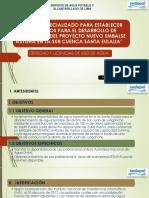 Derecho y Licenncias de Usos de Agua.